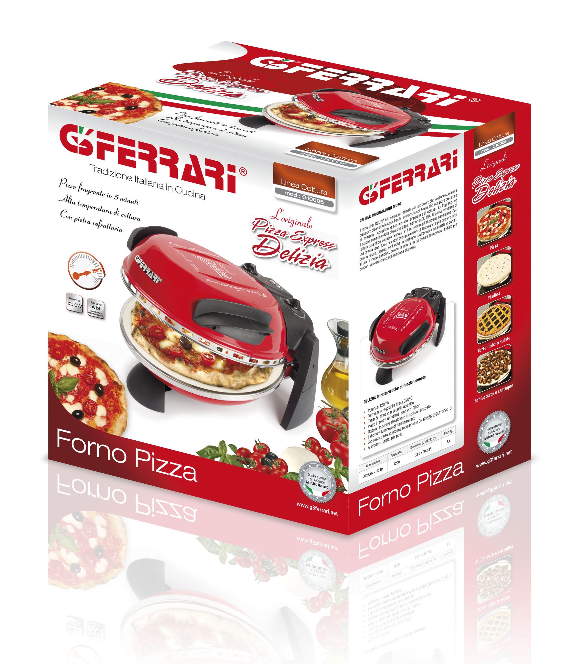 Forno elettrico per pizza usato confortevole soggiorno - Forno elettrico pizza casa ...